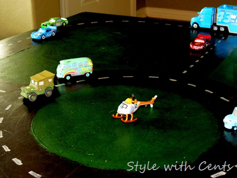disney cars hot wheels race track 6