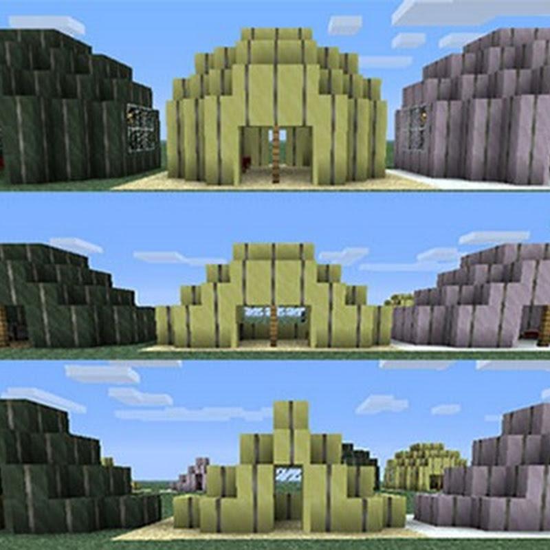 Minecraft 1.3.2 - CampCraft mod (Tende)