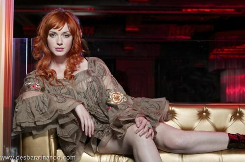 Christina Hendricks linda sensual sexy sedutora decote peito desbaratinando (26)