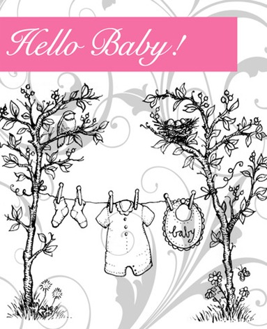 Hello Baby Graphic