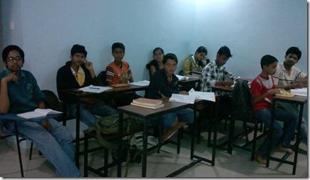 Vishal Gupta Founder Paritraan Vedic Maths Session Students