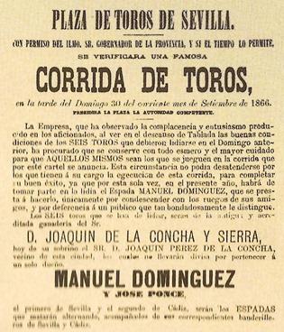 1866-09-30 Cartel Sevilla Dominguez (Detalle 2) 001