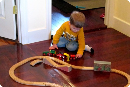 Nolan Playing Trains