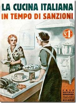 Cucina italiana in tempo di sanzioni. Copertina