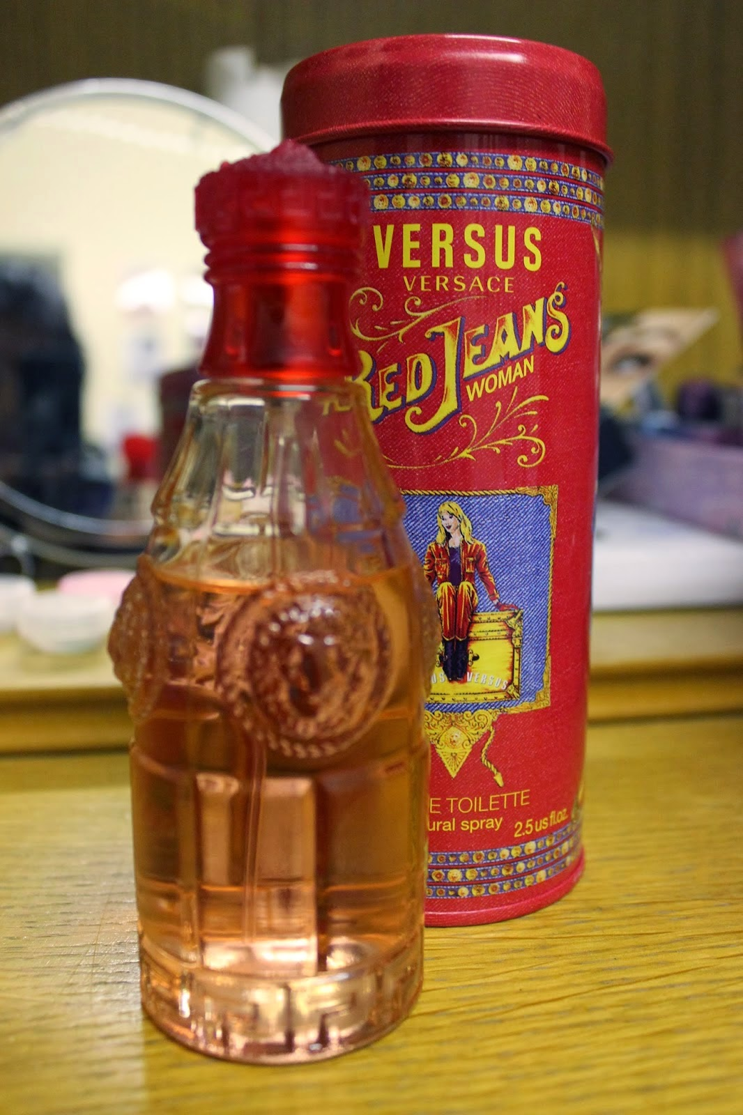 Perfume Original Malaysia Supplier VERSACE BLUE RED