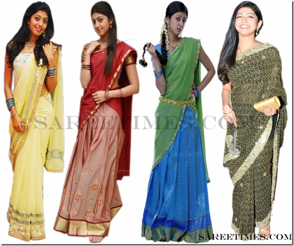 Praneetha_Designer_Sarees