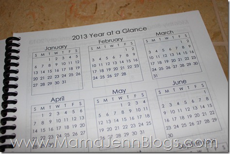 2013 Blogging Planner {FREE Printable}