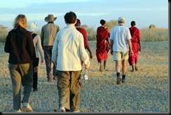 October 23, 2012 Masai walk