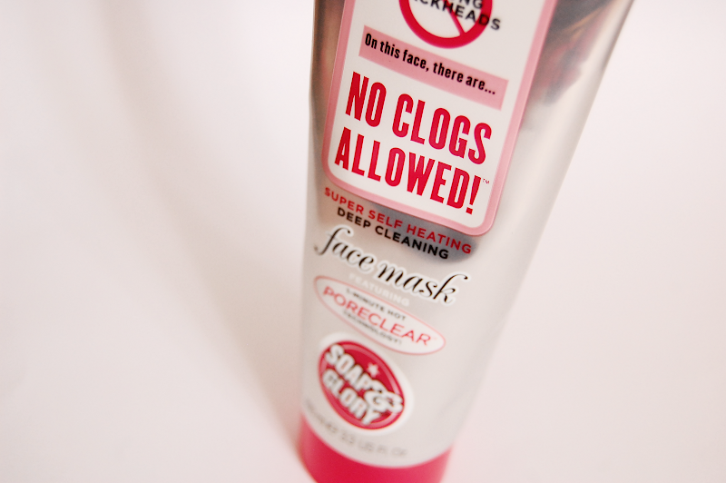 Soap and Glory No Clogs Allowed