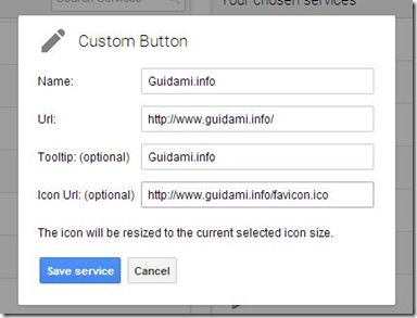 App Launcher Customizer for Google Custom Button