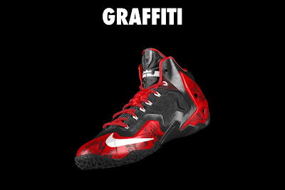 nike lebron 11 id graffiti 4 19 NIKEiD LeBron XI Graffiti in 7 Different Ways