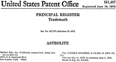Astrolite Trademark