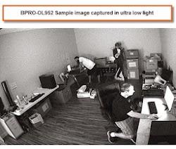 BPRO-OL952 Bullet CCTV Camera Ultra Low Light Surveillance Sample Image