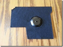 DIY oil pan mat