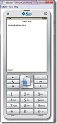 Screenshoot Aplikasi Dasar LWUIT