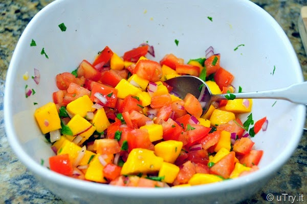 Fresh Mango Salsa  http://uTry.it