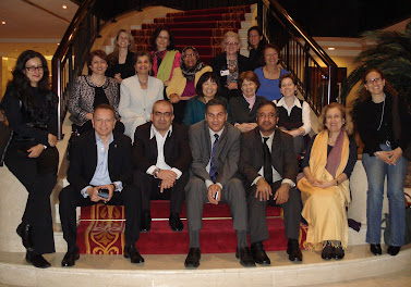 Participants in the 'Leadership for the Public Wellbeing in the Middle East' workshop hosted by RCLA and the NYU Abu Dhabi Institute