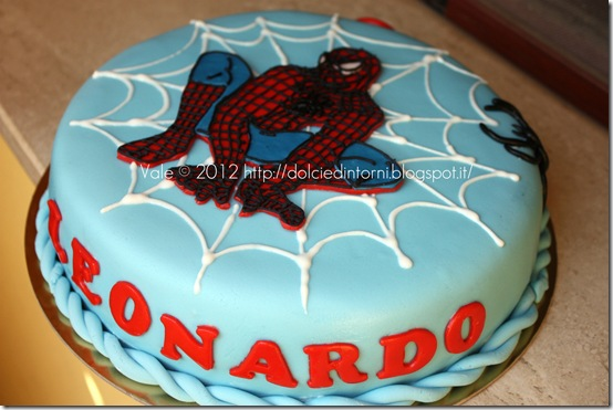 Torta spiderman