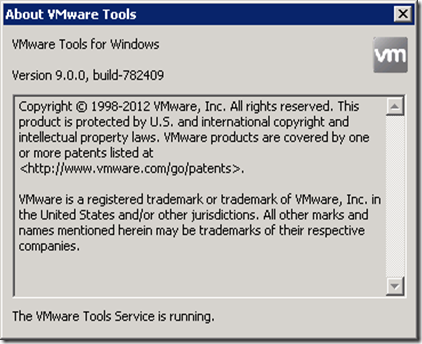 09_VM Tools Version 9