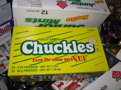 Chuckles... one of my favorite candies that I had to buy for the party.