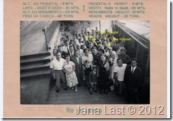 Group Photo at Corcovado Upper Station May 24 1952