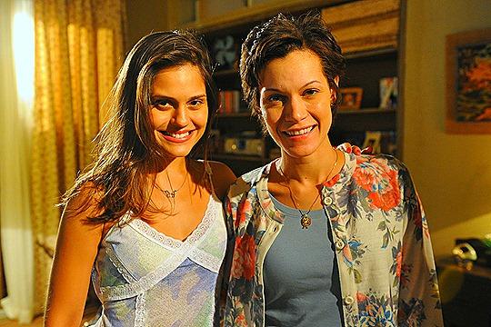 Jéssika Alves e Hermylla Guedes - Foto: Alex Carvalho/TV Globo