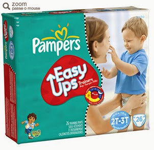 fralda pampers pants easy go