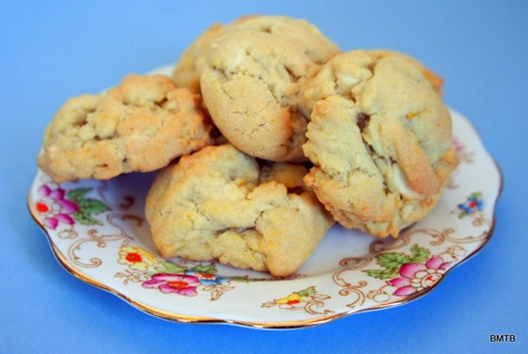 Orange and White Chocolate Cookies
