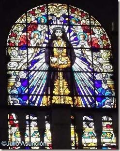 Vidriera de la Basílica de Jesús de Medinaceli - Madrid
