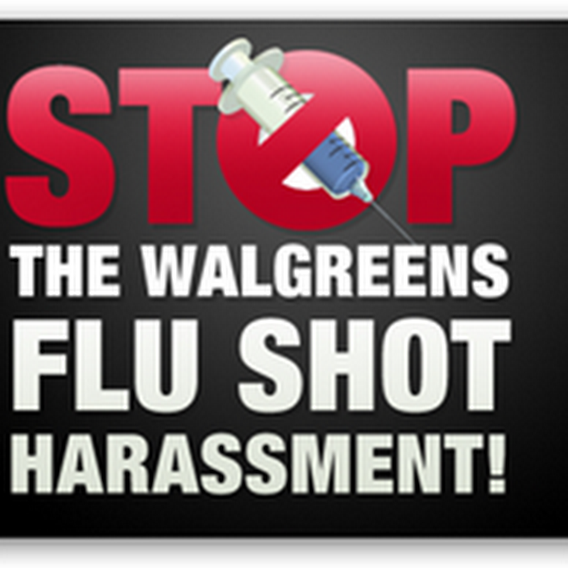 Stop the Flu Shot Harassment At Drug Stores–I've Had It! Put Take the Corporate Data Scientists Off the Flu Shot Model And Give Us a Break..