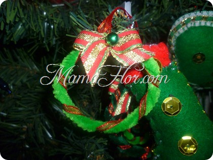 Decora tu Árbol de Navidad con estas Coronitas Navideñas