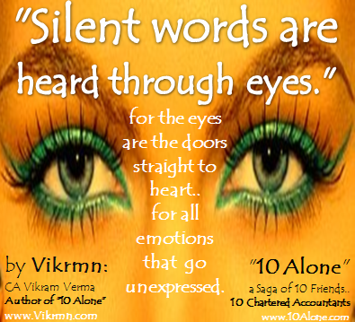 10 Alone quote by Vikrmn Silent Words CA Vikram Verma