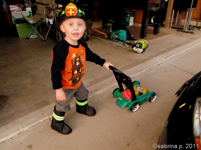 blake halloween firefighter