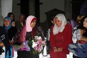 Homenaje a Latifa Boumediane.