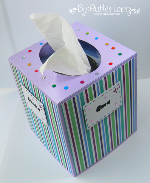 Lineas - Mosipis - Kleenex Box - SVG Attic - Ruthie Lopez - My Hobby My Art 3