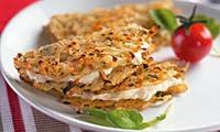 Tortilhas de batata com requeijão