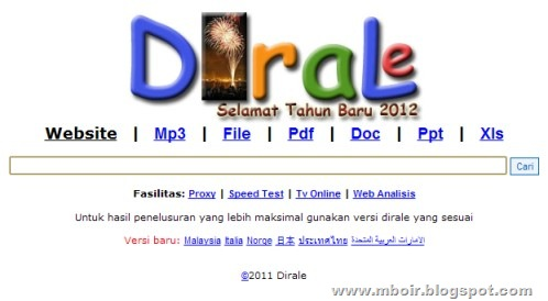 Dirale Search Engine mboir