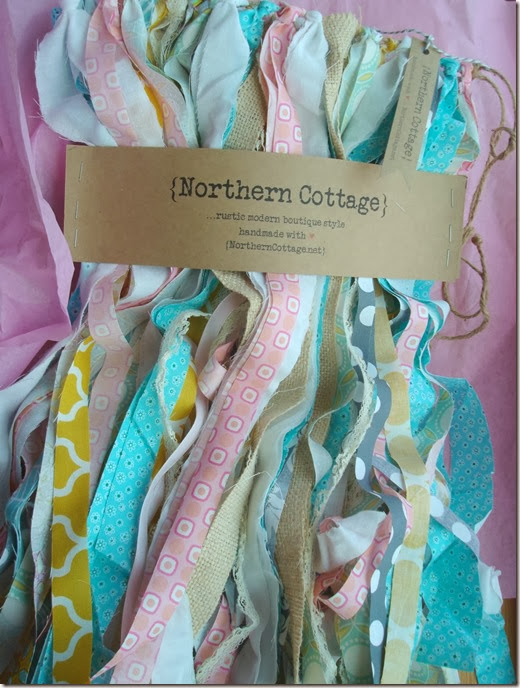 {Northern Cottage} banner all wrapped up pretty!