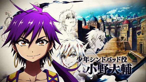 Anunciado Anime de Magi: Sinbad no Bouken