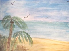 watercolor palms 2012.1