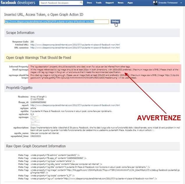 facebook-url-debugger