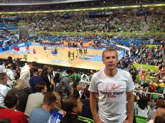 Дмитрий Базелевский на Евробаскете 2013 в Словении