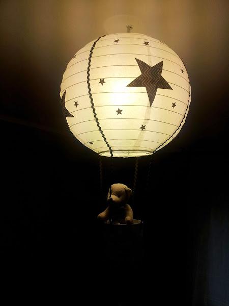 Lampara de globo for Lampara globo ikea