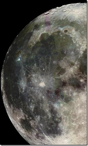 Скриншот программы Оцени экран смартфона Passport: а как выглядит Луна на вашем устройстве?