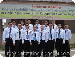 Diklat Prajabatan Golongan III Tahun 2012 Kab.Kuantan Singingi 2