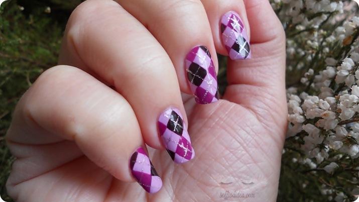nailart-nail art-soffiodidea-soffio di dea-rombi-16a