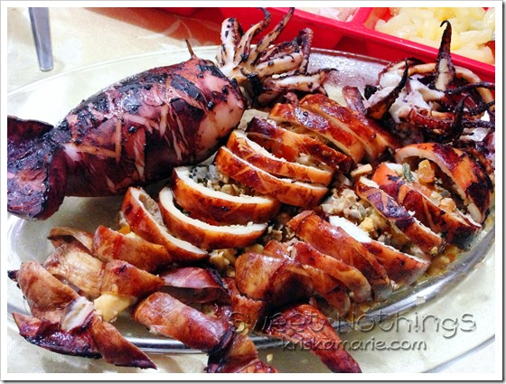 Stuffed Calamari On The Grill Recipe — Dishmaps