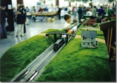 05 SOME Alumni Modular Layout at Train Fest in November 2002