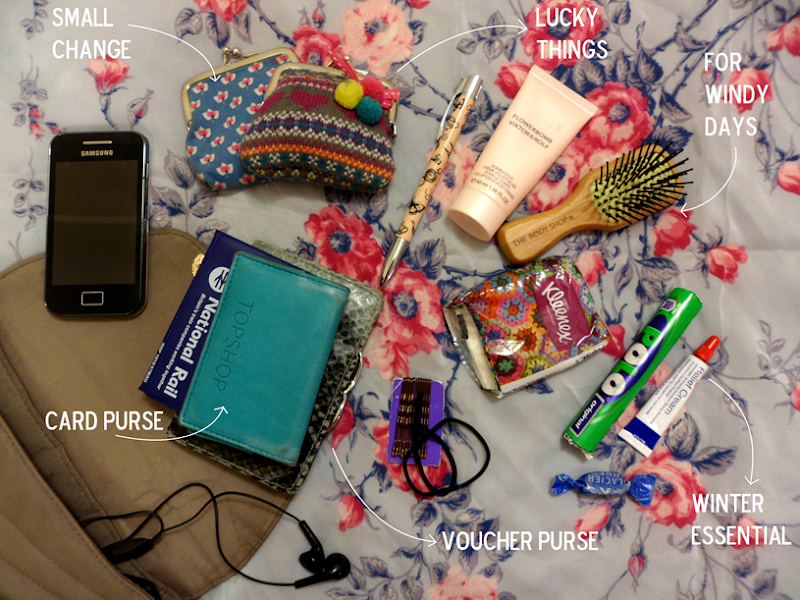 What&#39;s in my bag