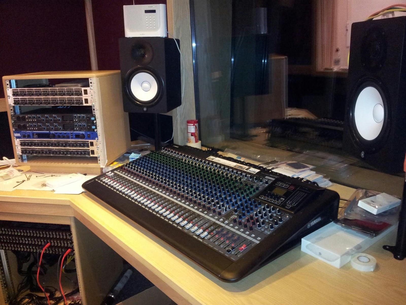 how to build a recording studio